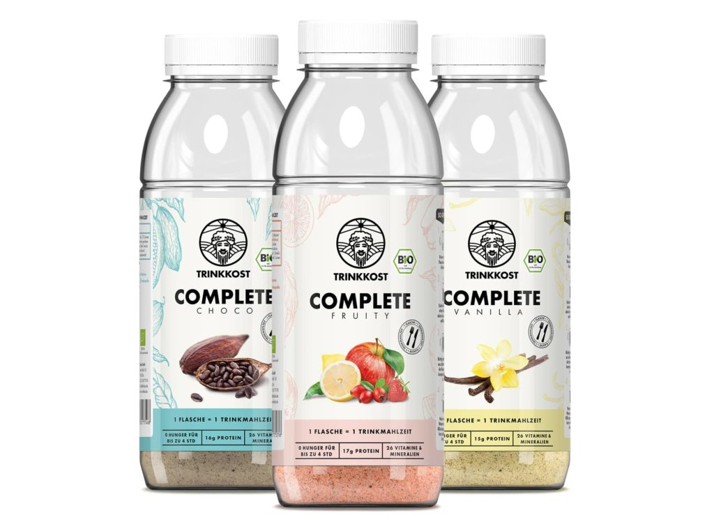 Supplements - Drink Food Complete provides 26 natural vitamins and minerals and 525 kcal